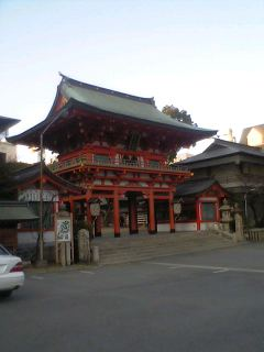 One of the most famous shrines in Japan(笑)